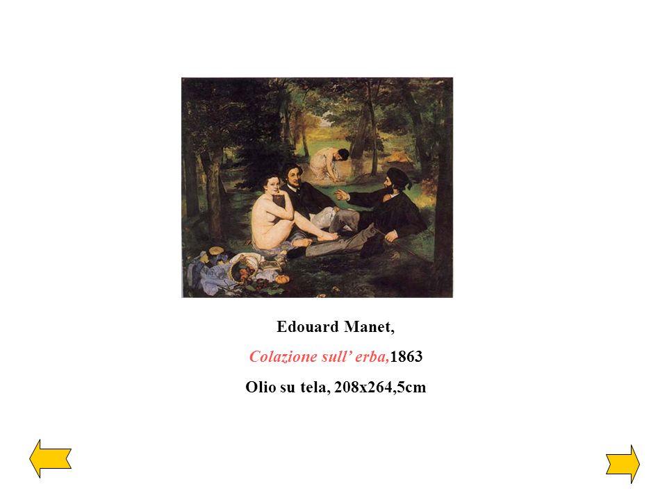 Edouard Manet, Colazione sull' erba,1863 Olio su tela, 208x264,5cm