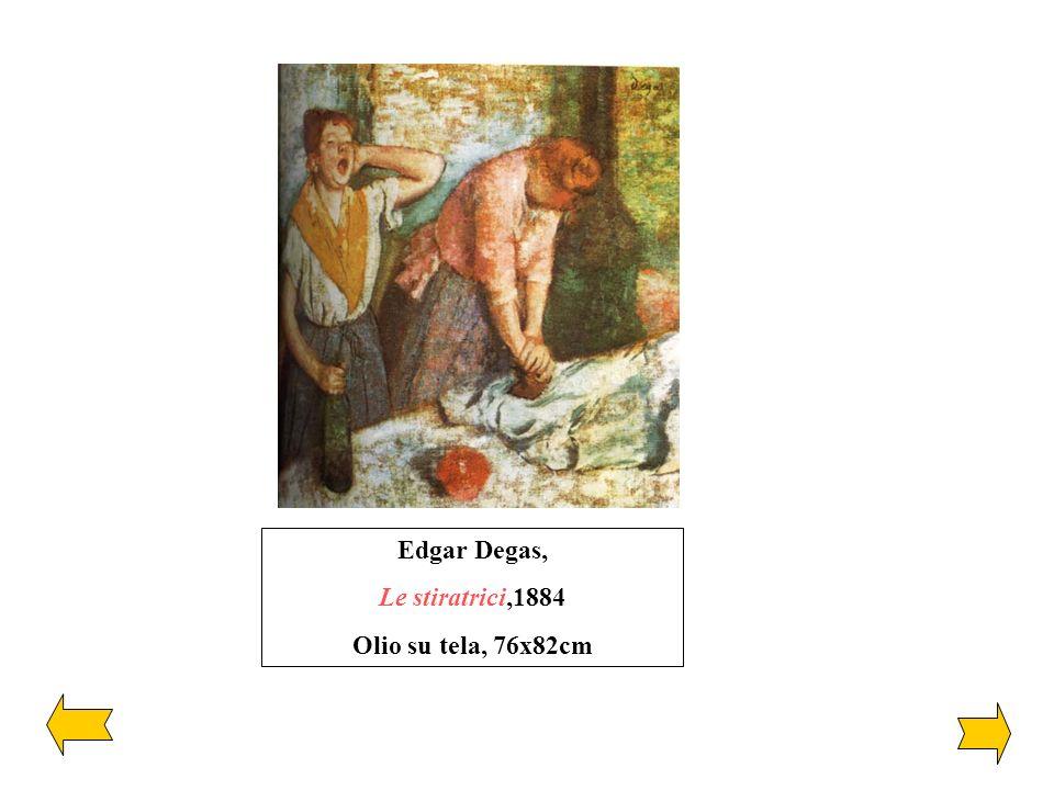 Edgar Degas, Le stiratrici,1884 Olio su tela, 76x82cm