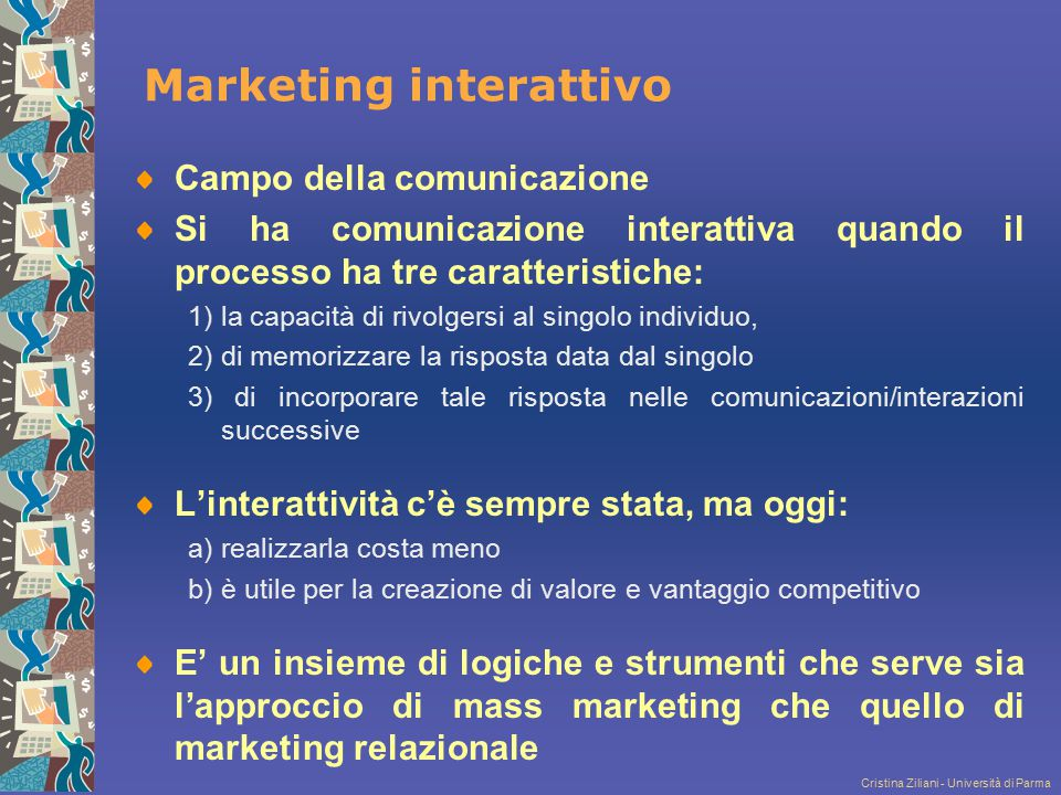 Marketing interattivo