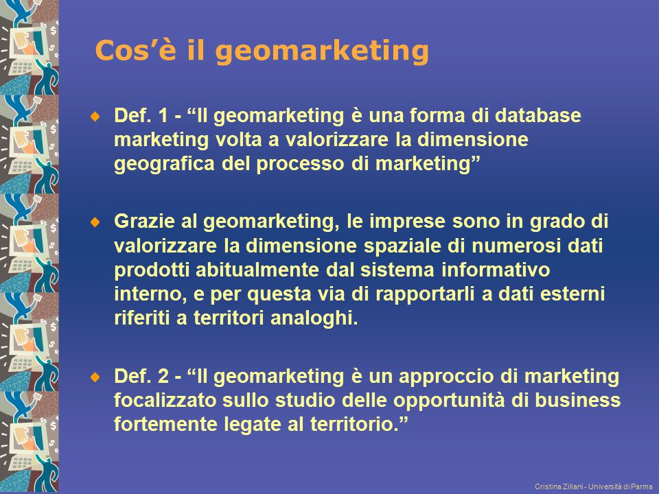 Cos'è il geomarketing
