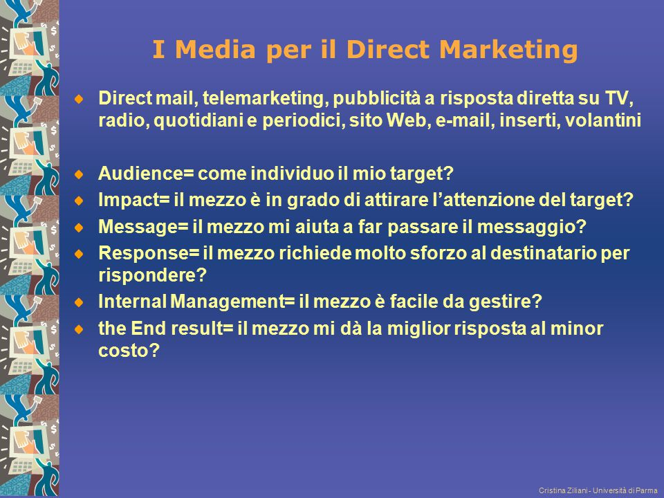I Media per il Direct Marketing
