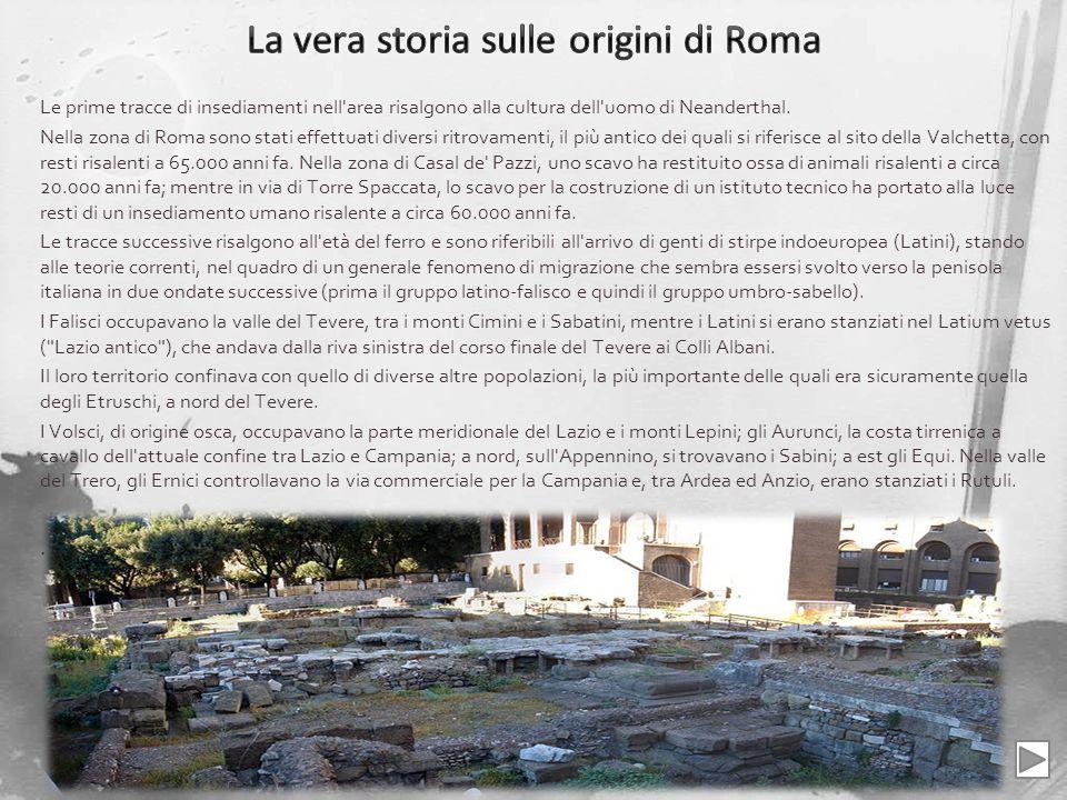 La vera storia sulle origini di Roma