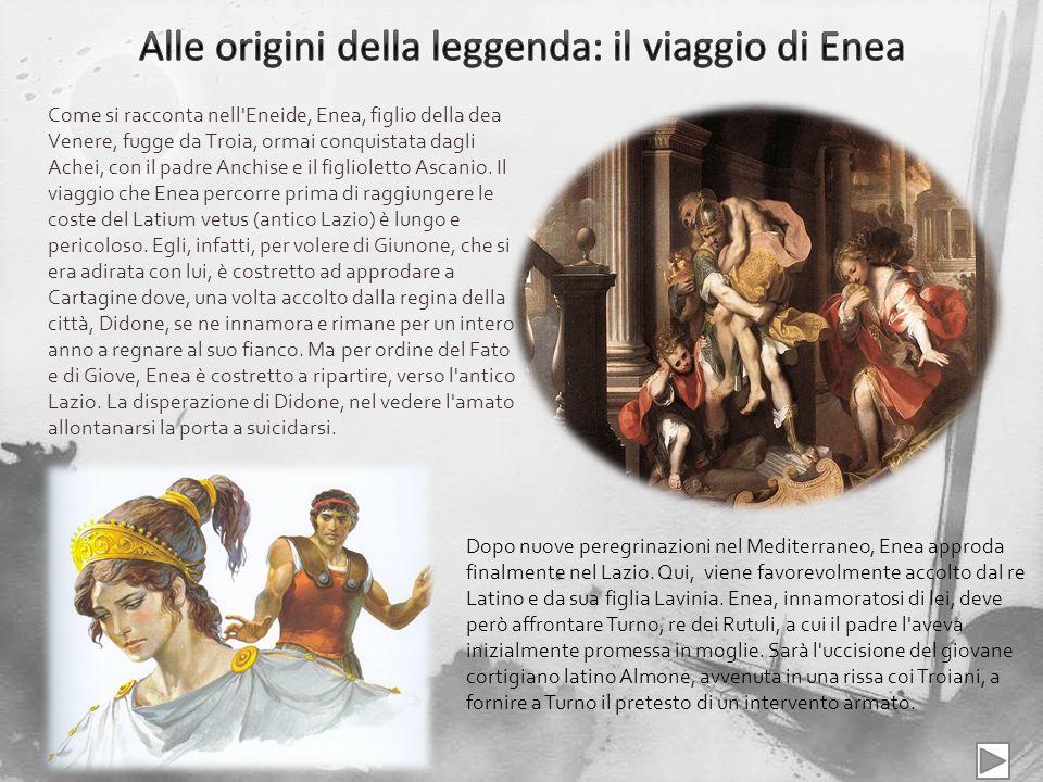 Alle origini della leggenda: il viaggio di Enea