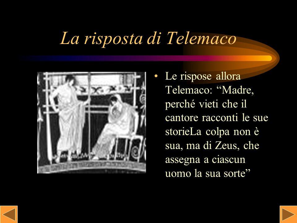 La risposta di Telemaco