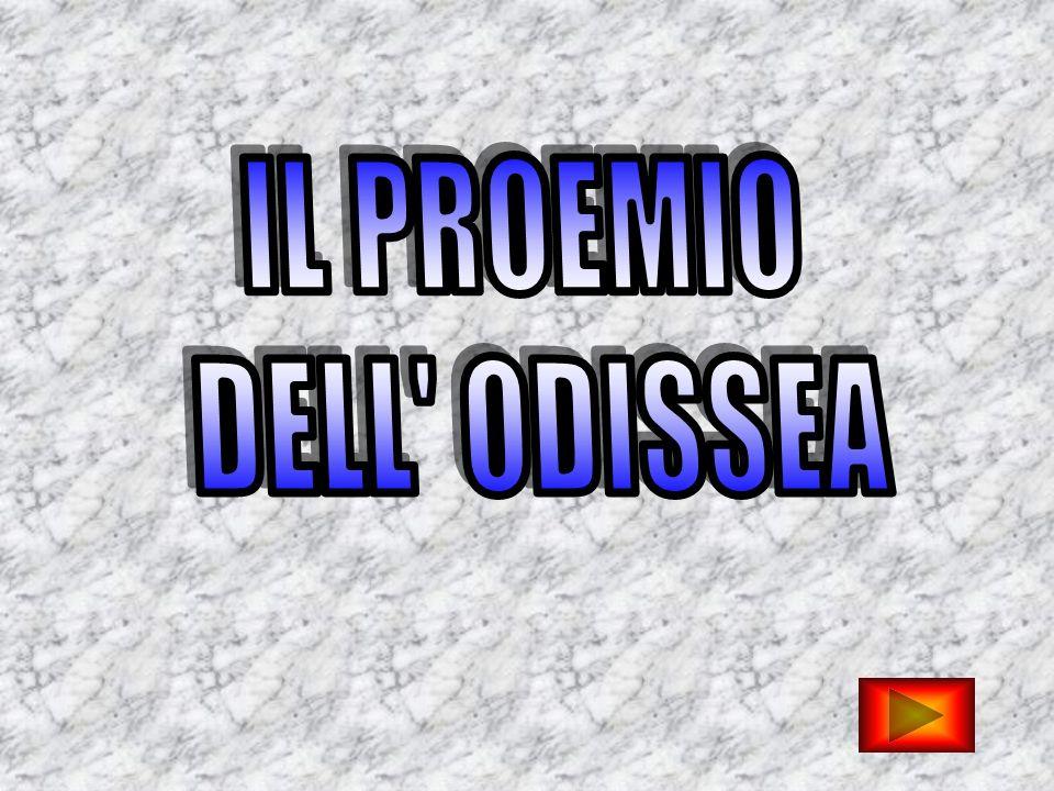 IL PROEMIO DELL ODISSEA
