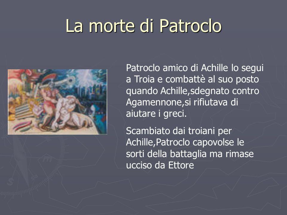 La morte di Patroclo