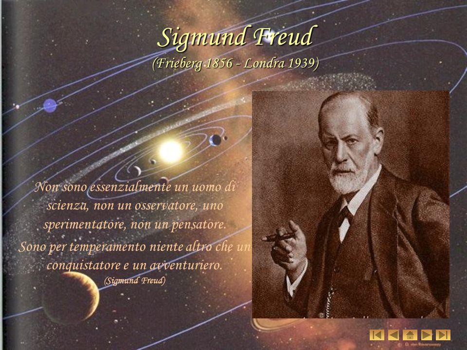 Sigmund Freud (Frieberg 1856 - Londra 1939)