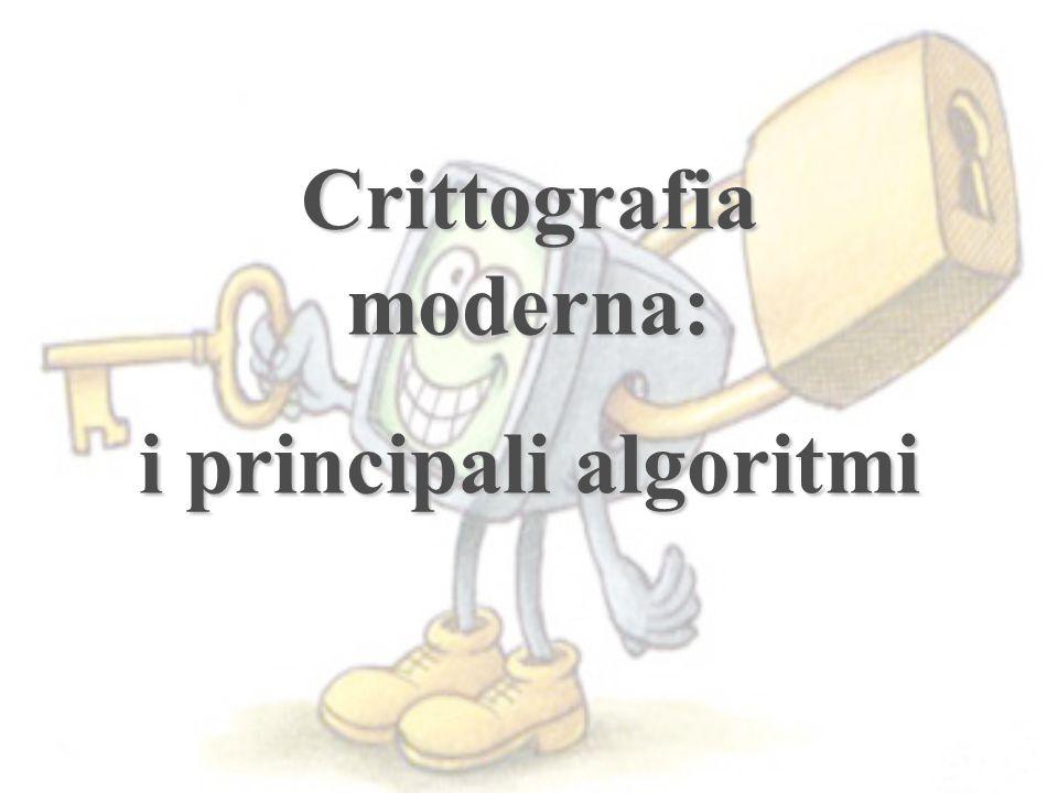 Crittografia moderna: i principali algoritmi