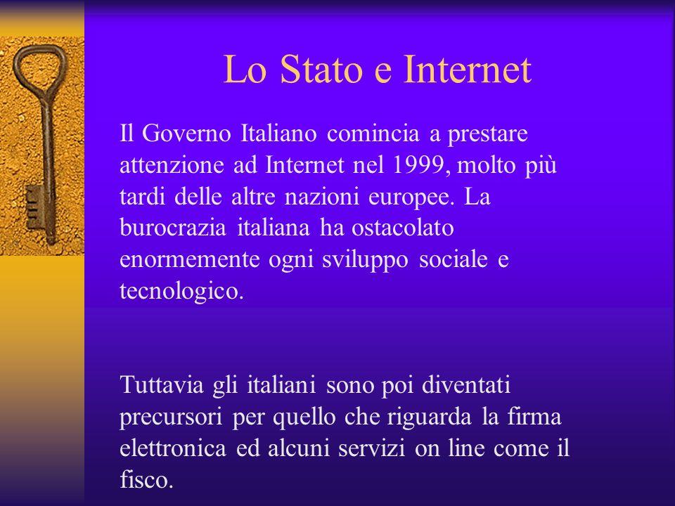 Lo Stato e Internet
