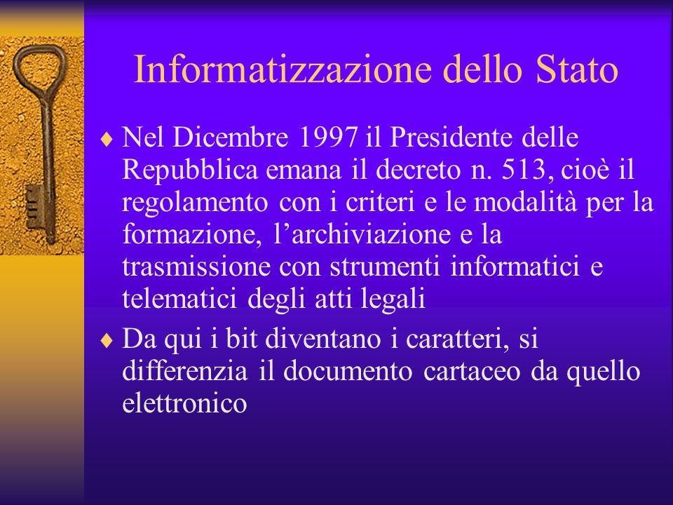 Informatizzazione dello Stato