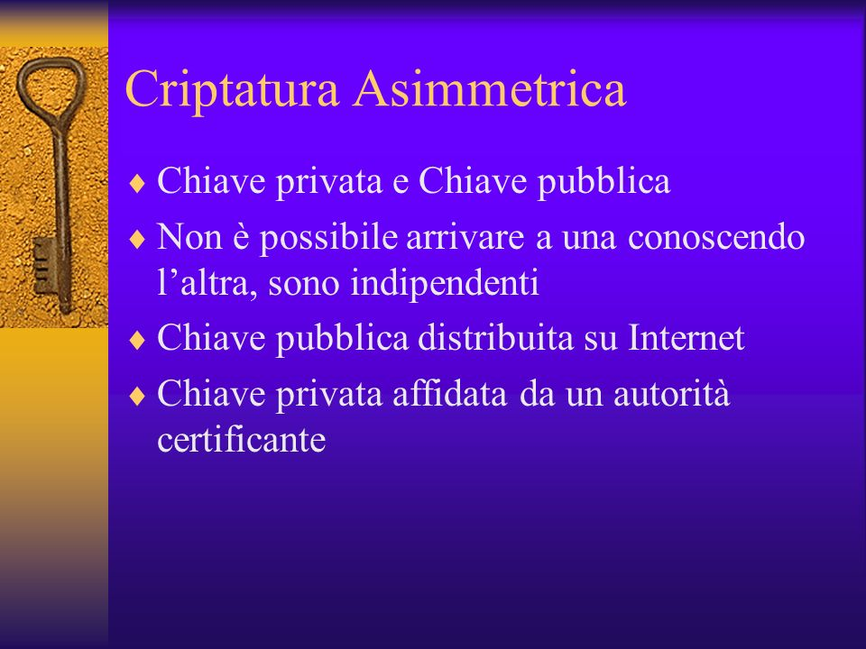 Criptatura Asimmetrica