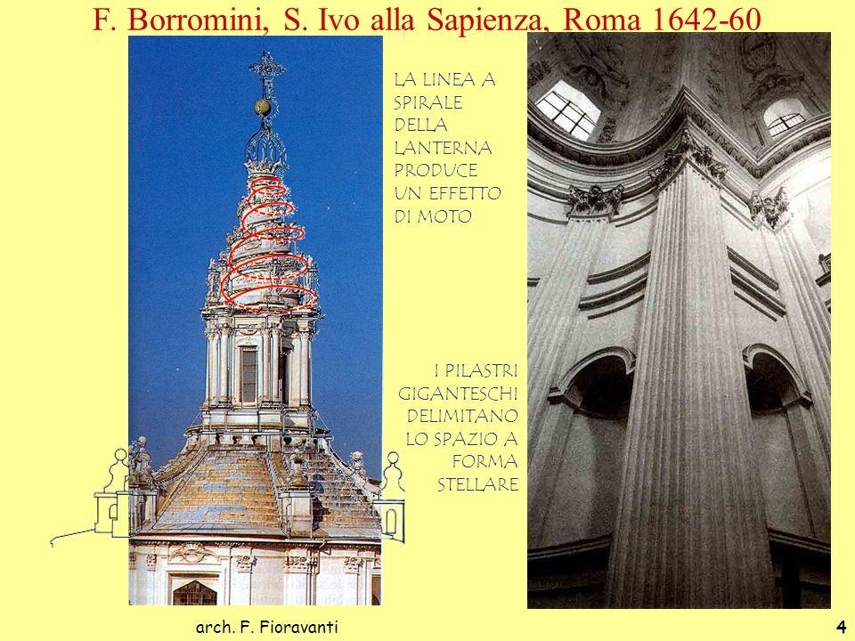 F. Borromini, S. Ivo alla Sapienza, Roma 1642-60