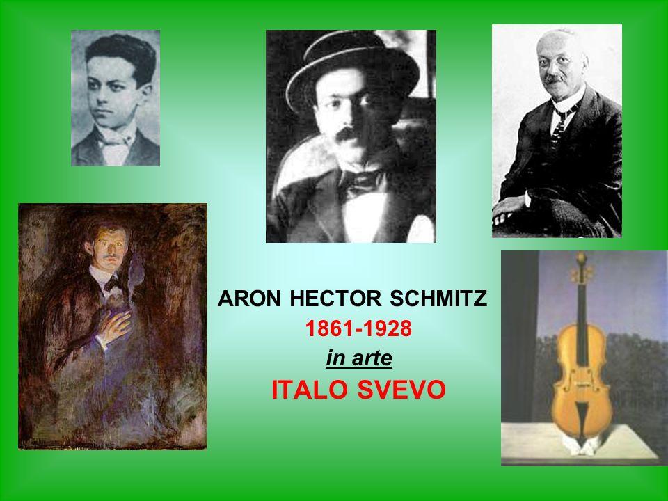 ARON HECTOR SCHMITZ 1861-1928 in arte ITALO SVEVO