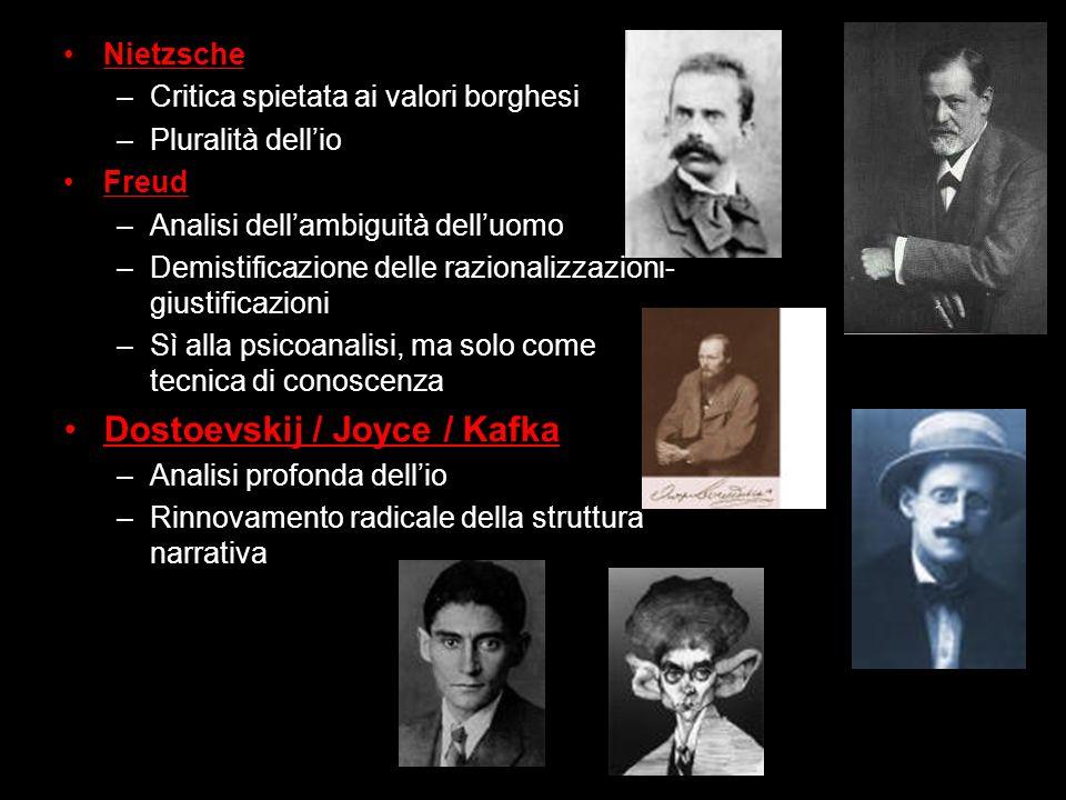 Dostoevskij / Joyce / Kafka