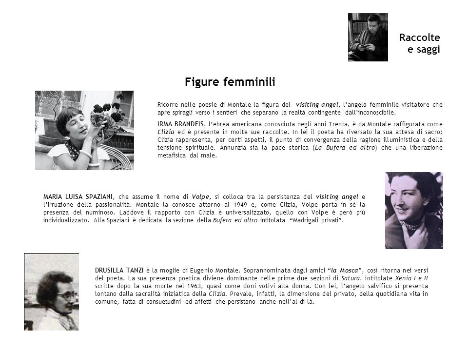 Figure femminili Raccolte e saggi