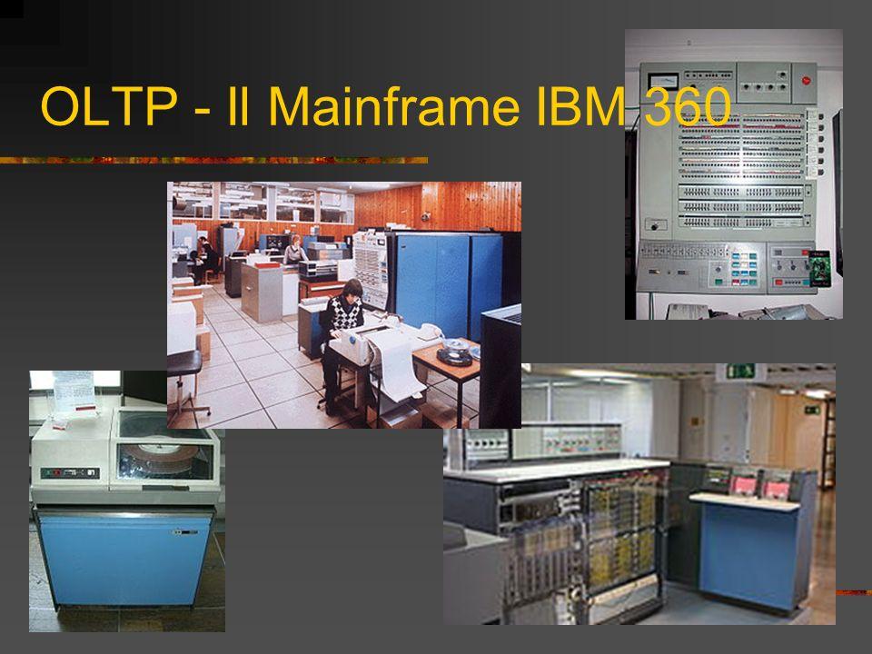 OLTP - Il Mainframe IBM 360