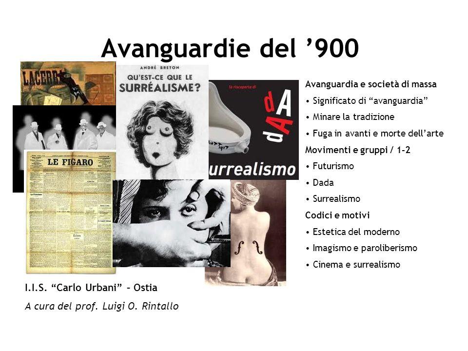 Avanguardie del '900 I.I.S. Carlo Urbani – Ostia