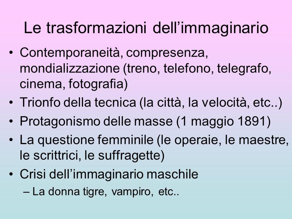 Le trasformazioni dell'immaginario