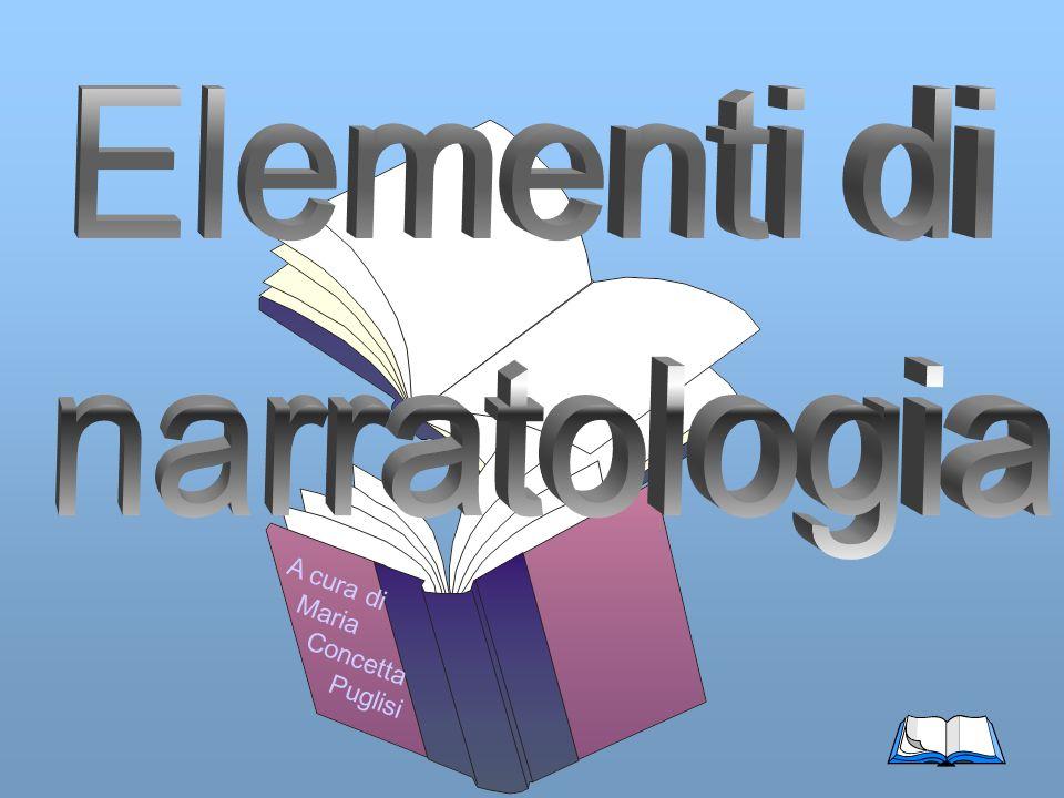 Elementi di narratologia A cura di Maria Concetta Puglisi