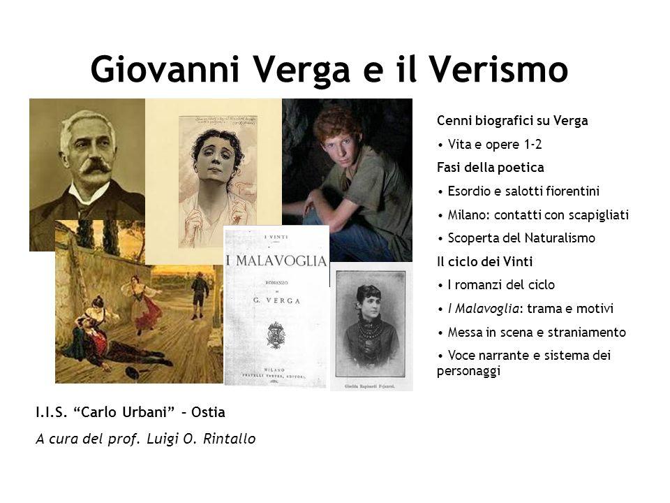 Giovanni Verga e il Verismo