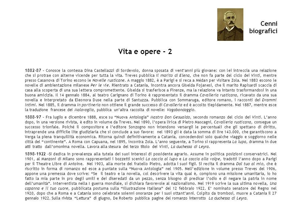 Vita e opere - 2 Cenni biografici