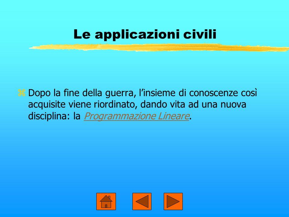 Le applicazioni civili