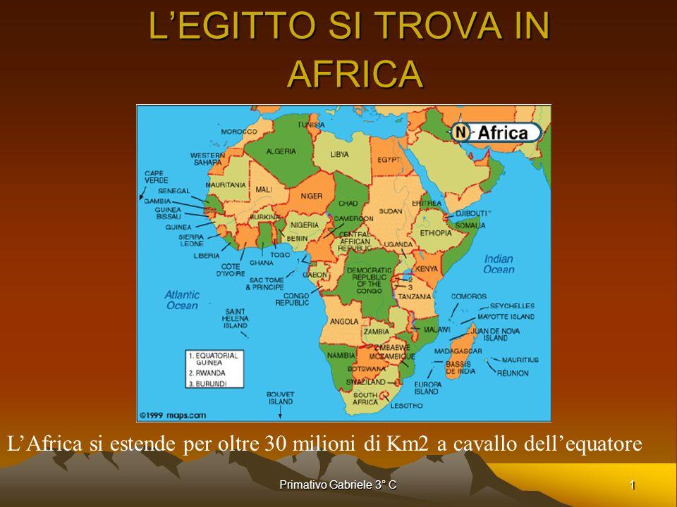 L'EGITTO SI TROVA IN AFRICA