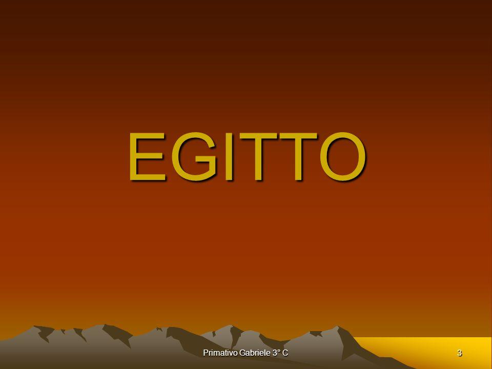 EGITTO Primativo Gabriele 3° C