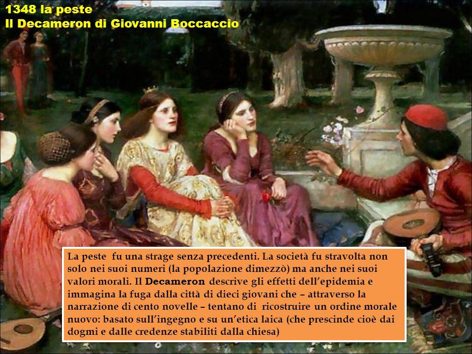 Il Decameron di Giovanni Boccaccio