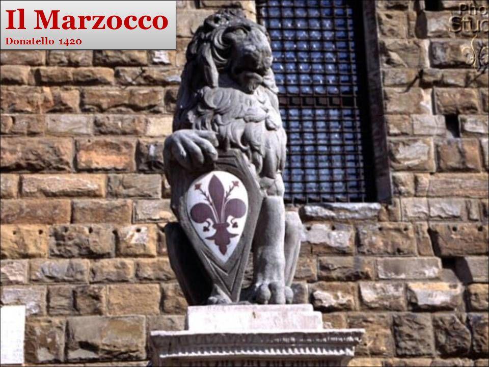 Il Marzocco Donatello 1420