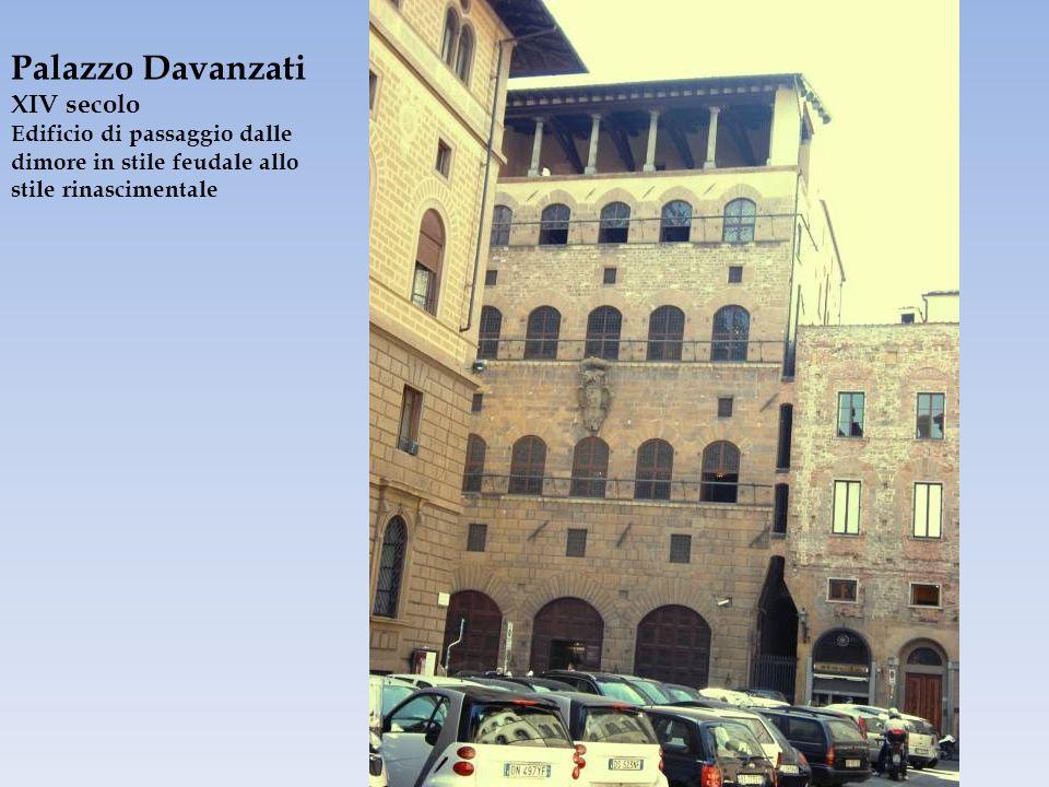 Palazzo Davanzati XIV secolo