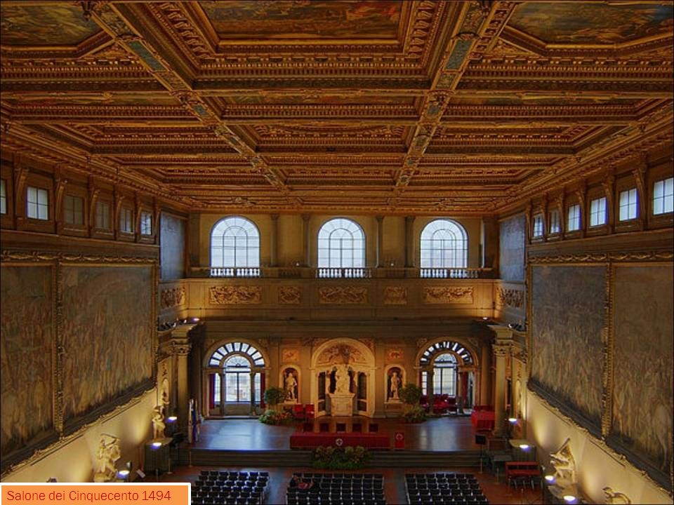 Salone dei Cinquecento 1494