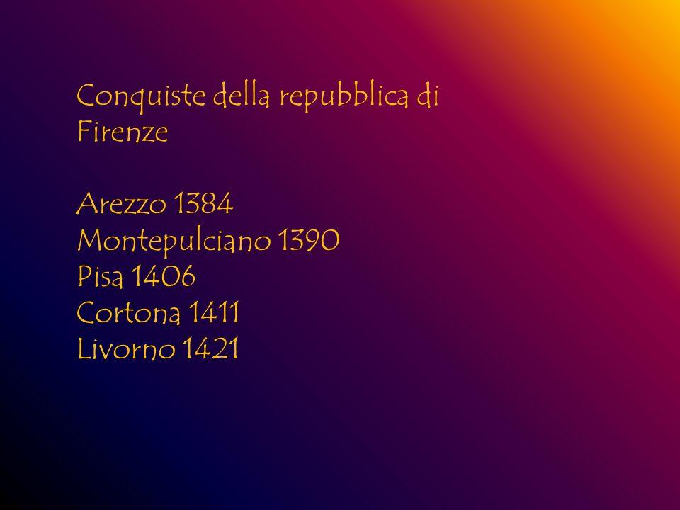 Conquiste della repubblica di Firenze