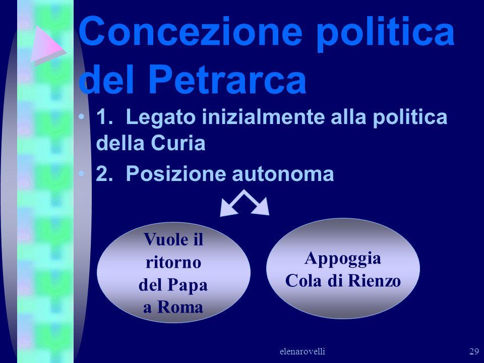Concezione politica del Petrarca