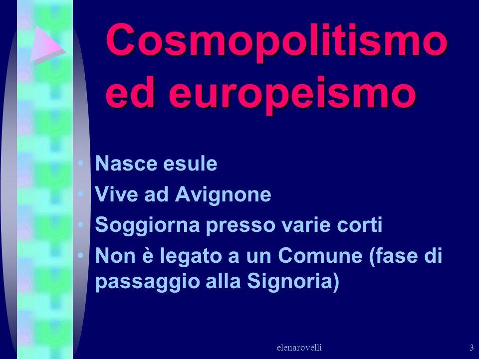 Cosmopolitismo ed europeismo
