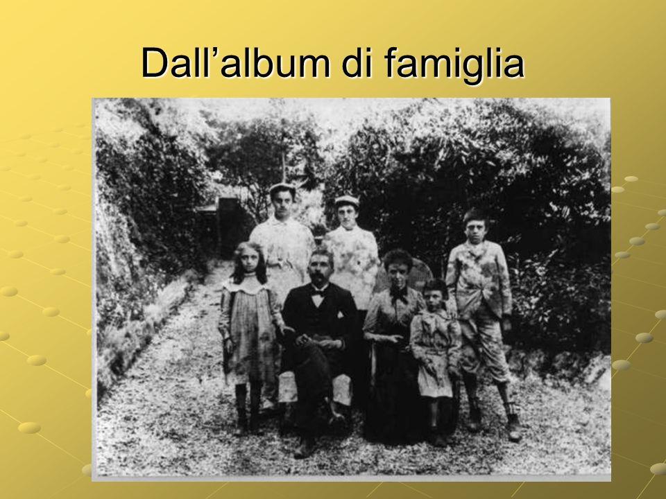 Dall'album di famiglia