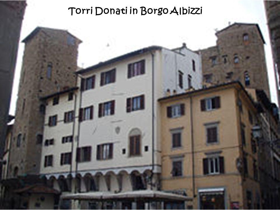 Torri Donati in Borgo Albizzi