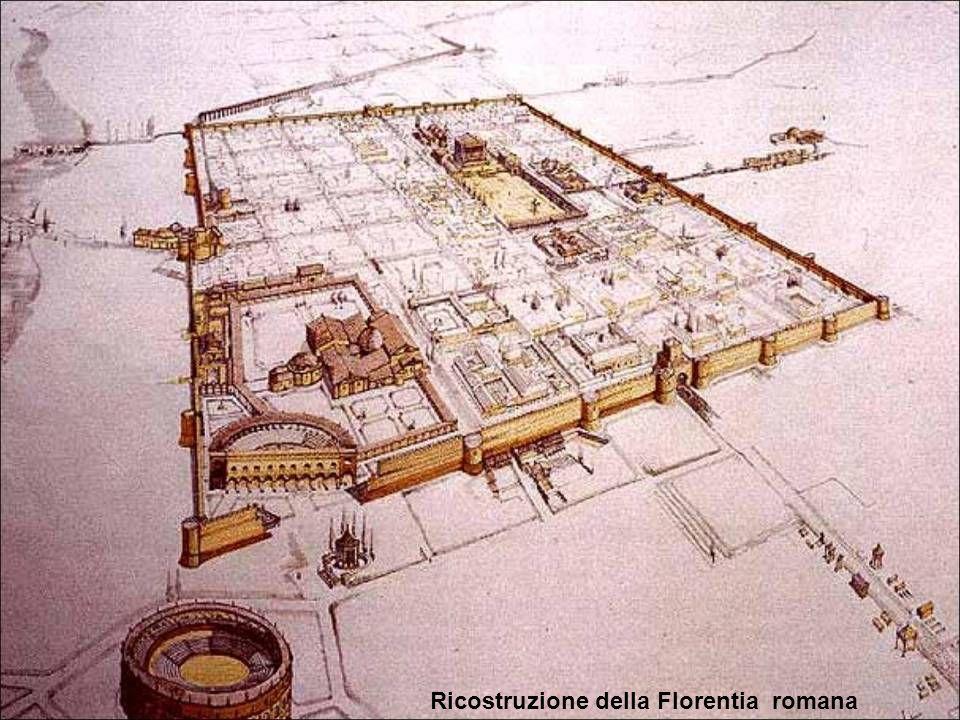 Ricostruzione della Florentia romana