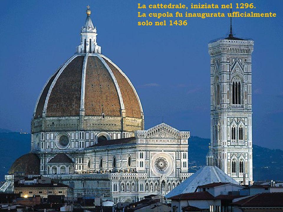 La cattedrale, iniziata nel 1296.