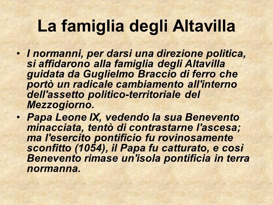 La famiglia degli Altavilla