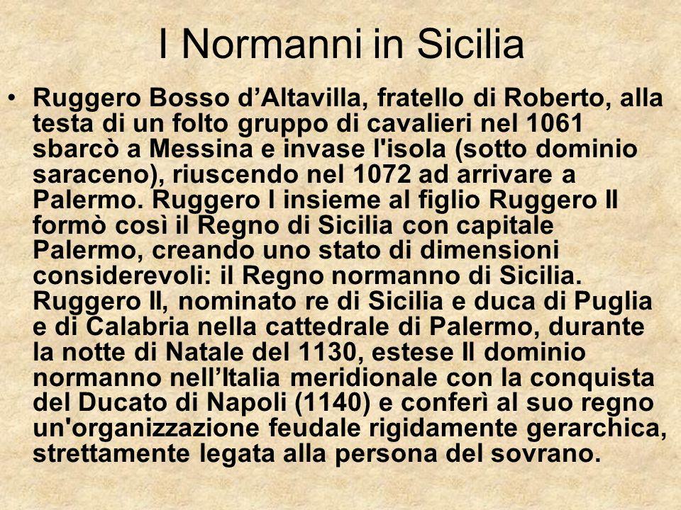 I Normanni in Sicilia