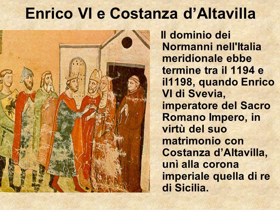 Enrico VI e Costanza d'Altavilla