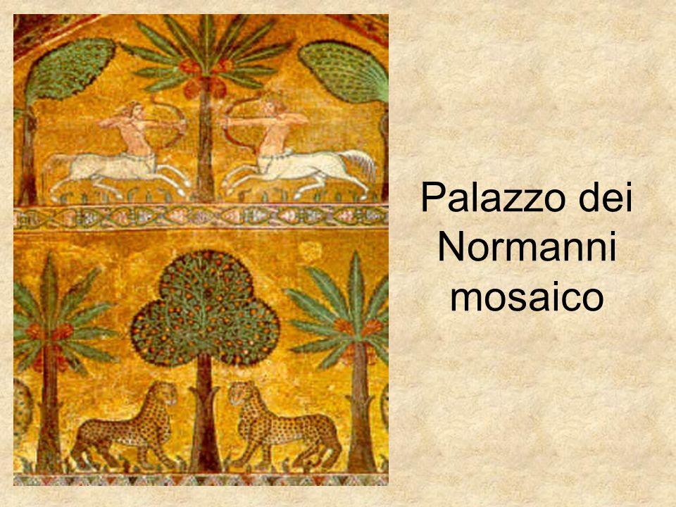 Palazzo dei Normanni mosaico