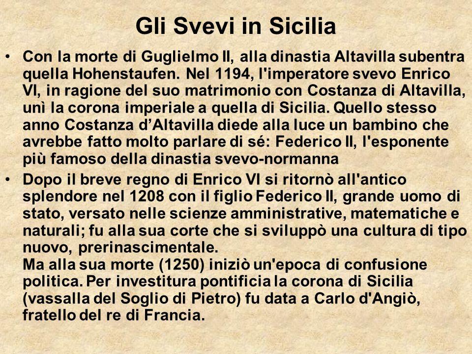 Gli Svevi in Sicilia