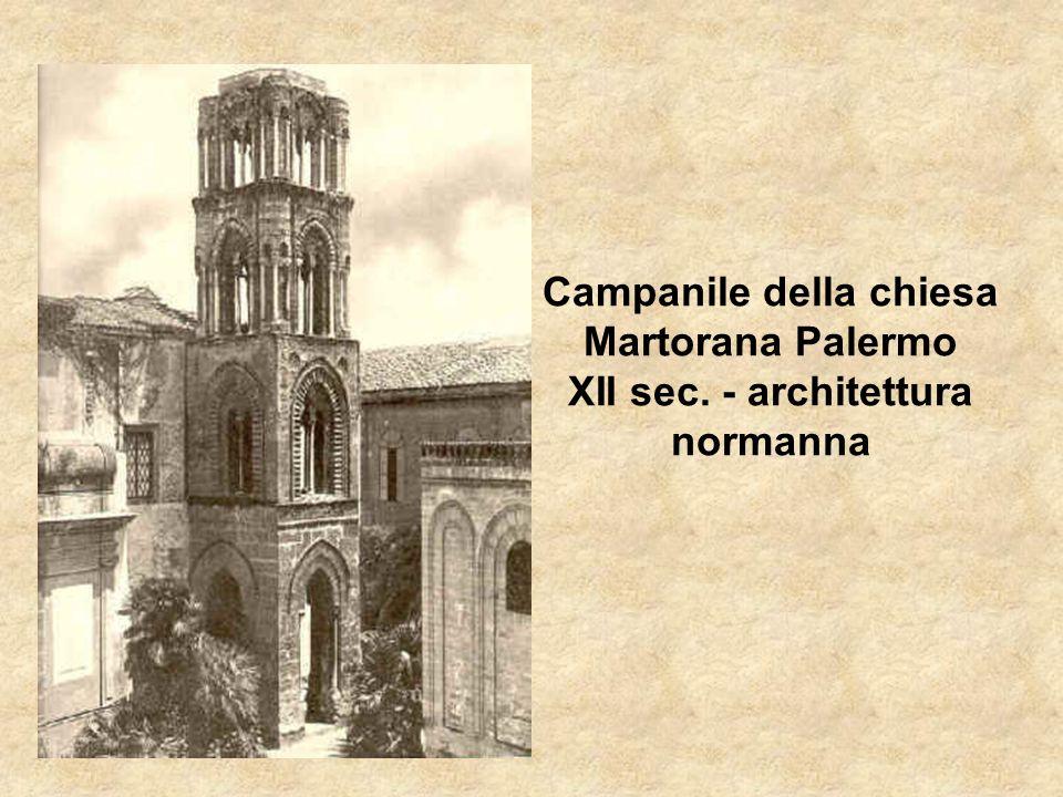 Campanile della chiesa Martorana Palermo XII sec