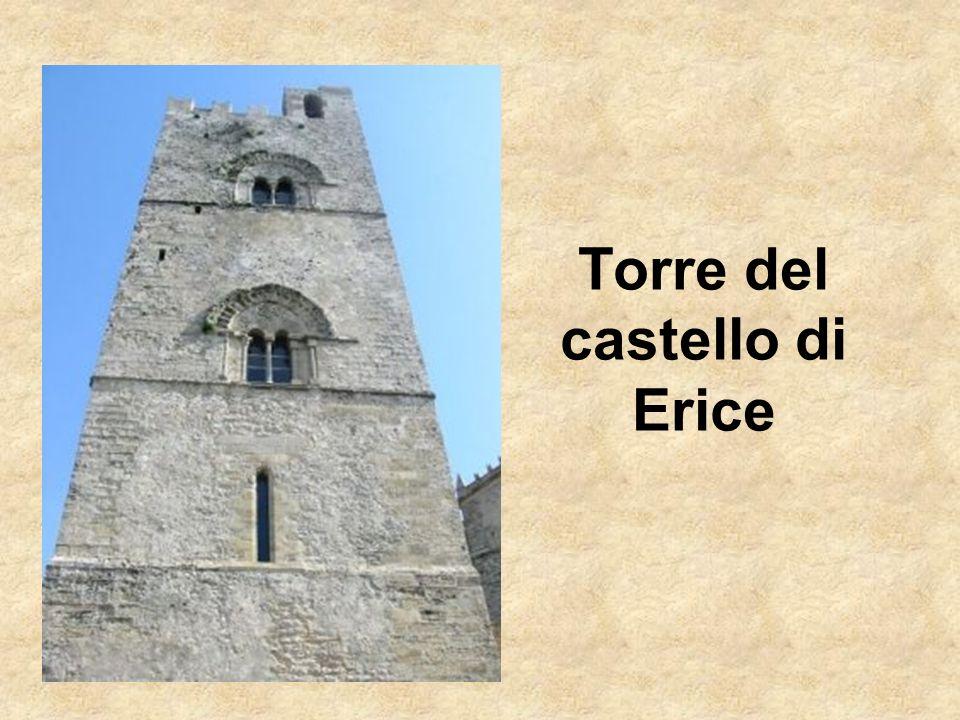 Torre del castello di Erice