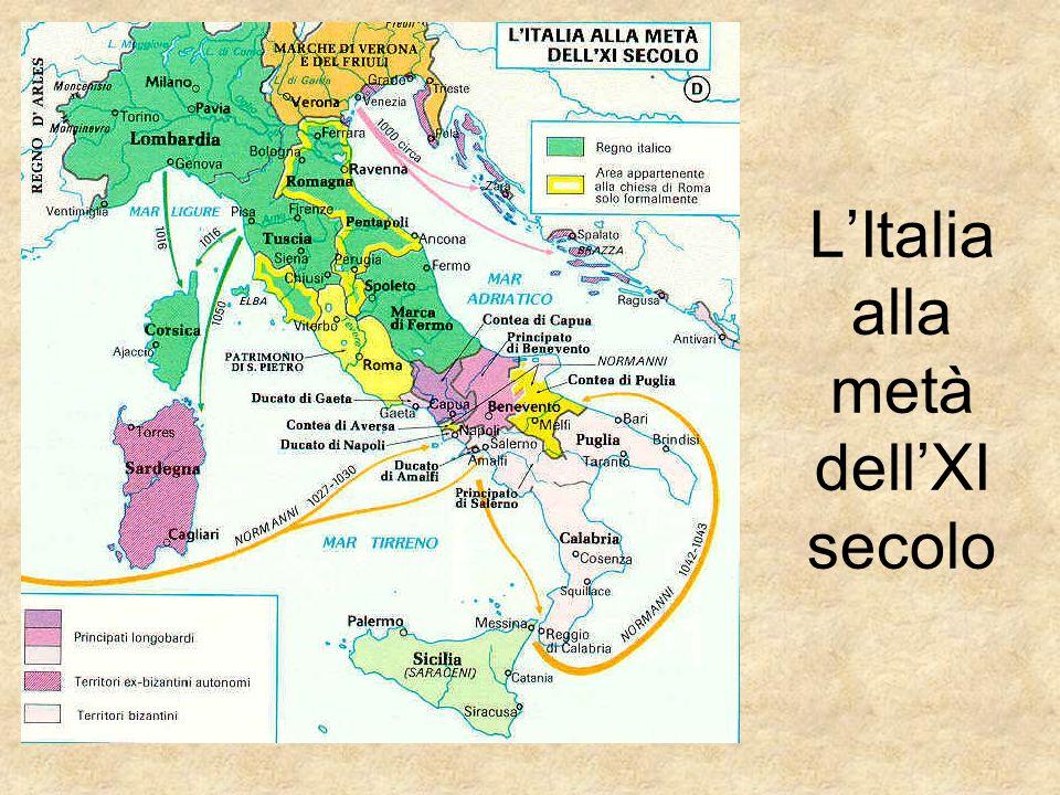 L'Italia alla metà dell'XI secolo