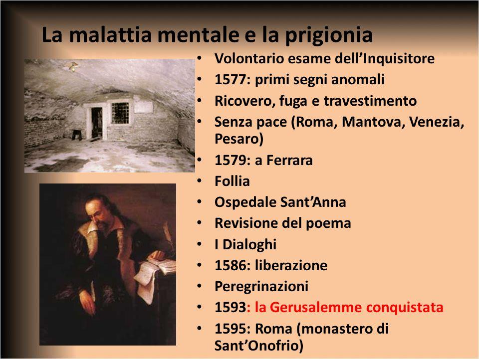 La malattia mentale e la prigionia
