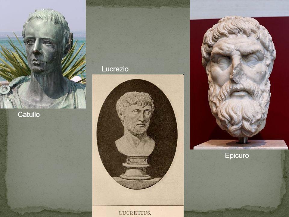 Lucrezio Catullo Epicuro