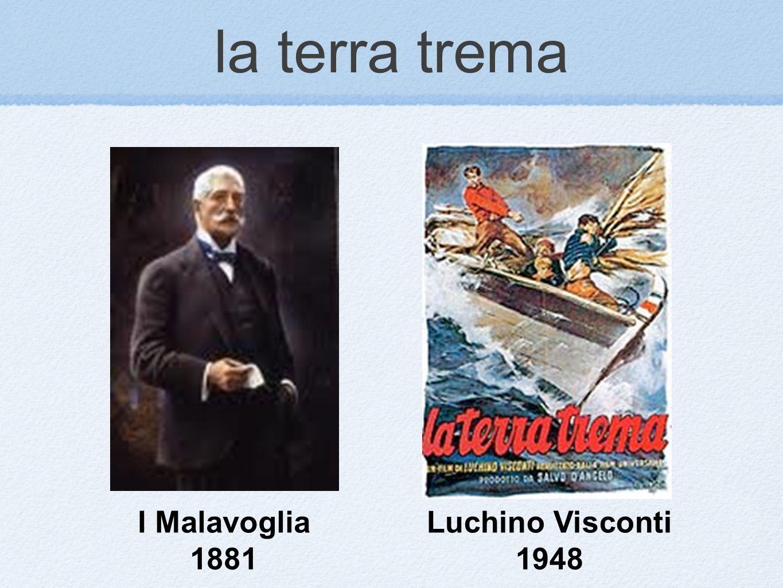 la terra trema I Malavoglia 1881 Luchino Visconti 1948